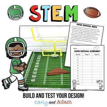 Paper Football STEM Activity