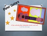 Paper Guitar Activity