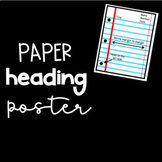 Paper Heading Poster