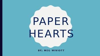 Paper Hearts Novel Study