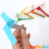 Paper Helicopter DIY - Simple STEAM Project/ Science Exploration