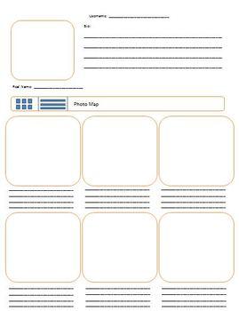 "Paper ""Instagram"" Worksheet"