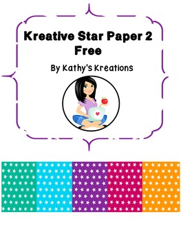 Paper Kreative Star Free #2