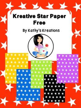 Paper Kreative Star Free