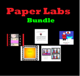 Science Paper Labs Bundle and Sub Plans * No Extra Materials Needed*