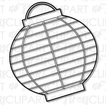 Paper Lanterns Clip Art (Digital Use Ok!)