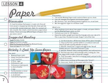 Paper Lesson Plan