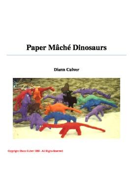 Paper Mâché Dinosaurs