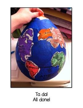 Paper Mache Globes!
