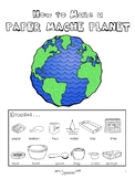 Paper Mache Planet