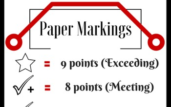 Paper Markings - Meanings