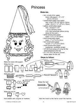 Paper Mitt Puppets: Castle Characters