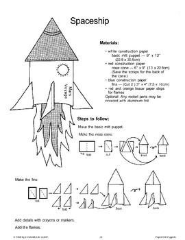 Paper Mitt Puppets: Space