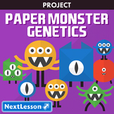 Paper Monster Genetics