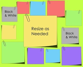Notes Bundle! Clip Art