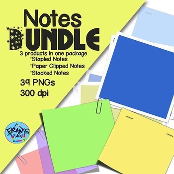 Notes Bundle! Clip Art