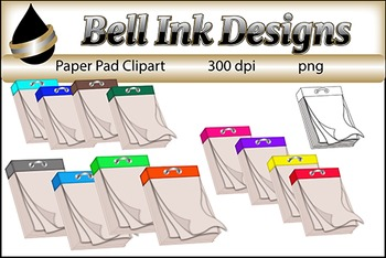 Paper Pad Clipart