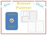 Paper Passport use w Travel Unit Ellis Island, Christmas A