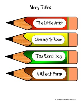 Paper, Pencils, and Comprehension (Choosing the Topic)