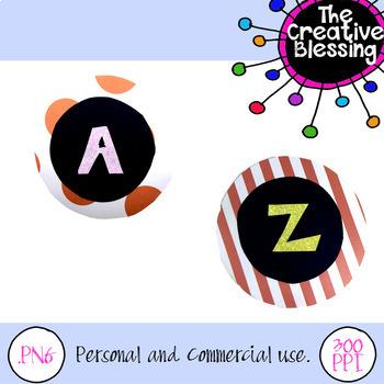 Paper Alphabet Clip Art