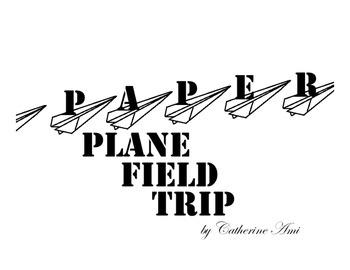 Paper Plane Field Trip Mini Book