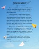 Paper Plane Good-bye Letter