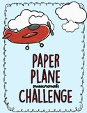 Paper Plane Measurement Challene