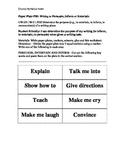 Paper Plate Activity - Author's Purpose