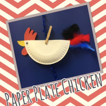 Paper Plate Chicken Craft & Paper Plate Chicken Craft by Organized Chaos Coordinator | TpT