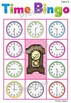 Clock and Time Activities (Paper Plate Clock Craft, Worksheets, Bingo Game)