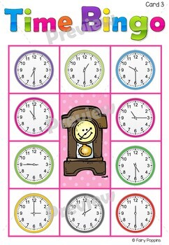 Clock Craft & Telling Time Activities