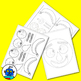 Paper Plate Food Face Crafts and Body Parts Activity