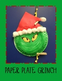 Paper Plate Grinchmas