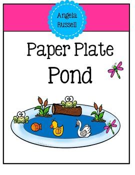 Paper Plate Pond