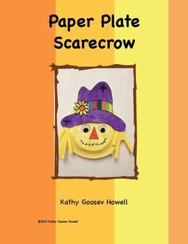 sc 1 st  Teachers Pay Teachers & Paper Plate Scarecrow by Kathy Goosev Howell | Teachers Pay Teachers