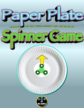 Paper Plate Spinner Game
