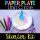 Unit Circle Paper Plate Activity