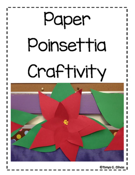 Paper Poinsettia Craftivity