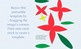 Paper Poinsettia Crafts for Christmas