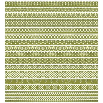 Paper Punch Avocado Borders Clipart & Vectors - Border Clip Art, Page Borders