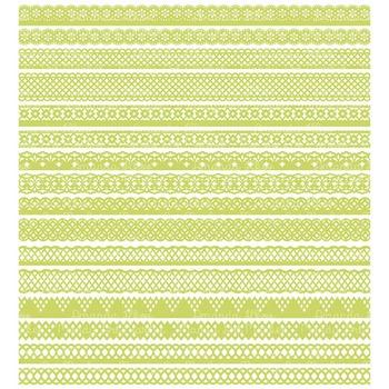Paper Punch Bamboo Borders Clipart & Vectors - Border Clip Art, Page Borders