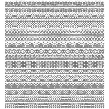 Paper Punch Grey Borders Clipart & Vectors - Border Clip Art, Page Borders