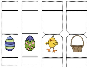 Paper Puppet Story: Easter Egg Hunt