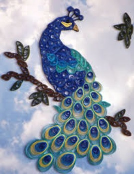 Paper Quilling Art Lesson