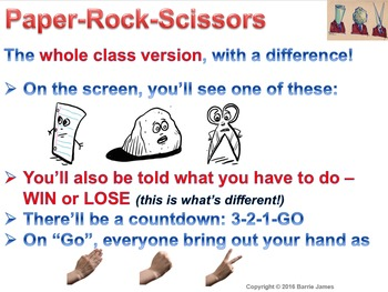 Paper Rock Scissors... and so much more!