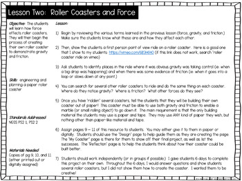 Paper Roller Coaster Distance Learning STEM Project