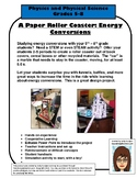 Paper Roller Coaster Project Grades 5-8