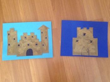 Paper Sandcastle Templates