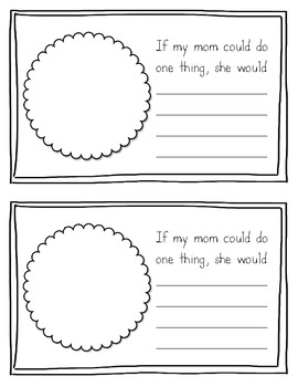Paper-Saving Mother's Day Gift Book