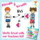 Paper School Kids Clipart Personal and Commercial Use